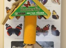 Butterfly Nectar Feeder and food